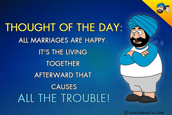 Fart all marriages